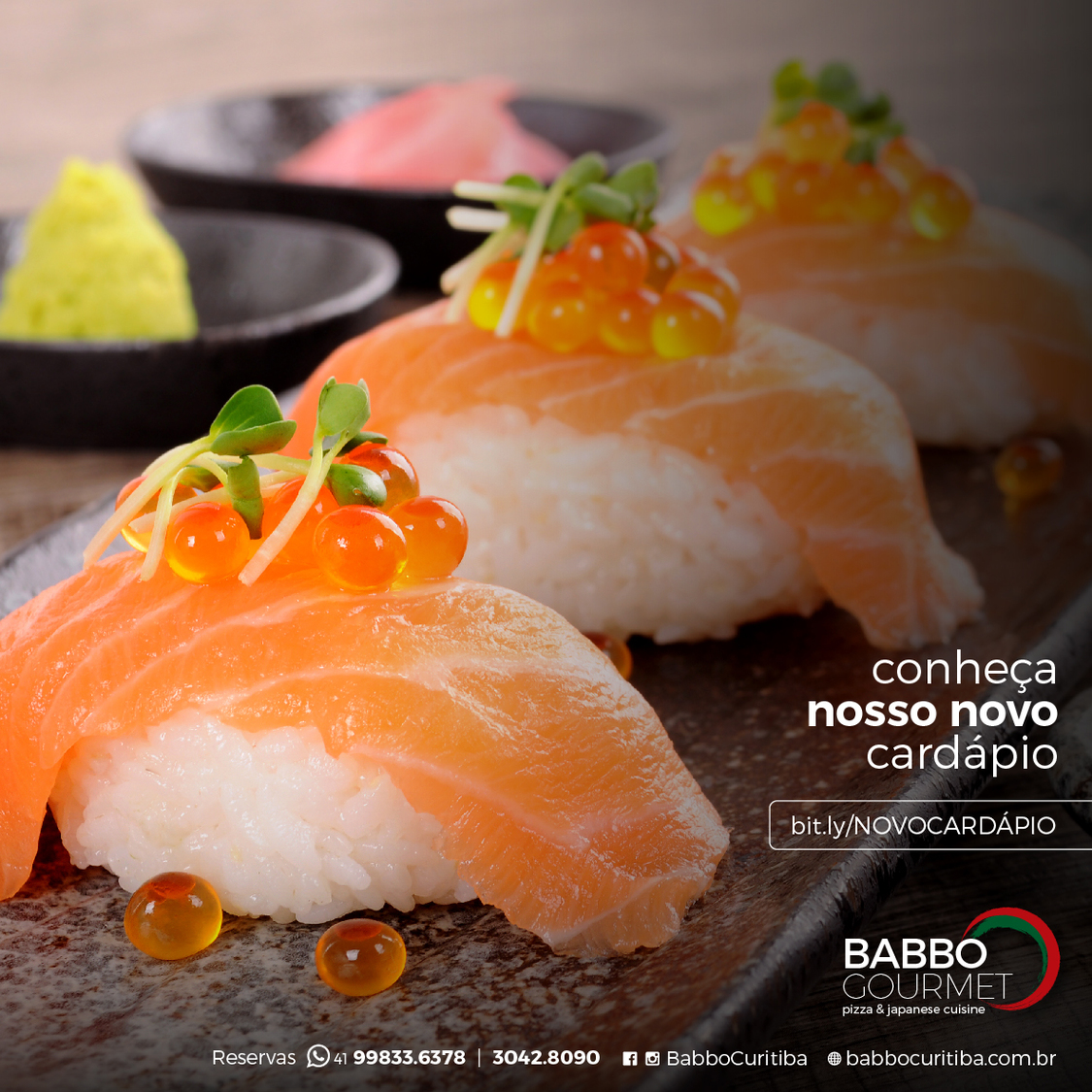 Babbo Gourmet Pizza & Japanese Cuisine