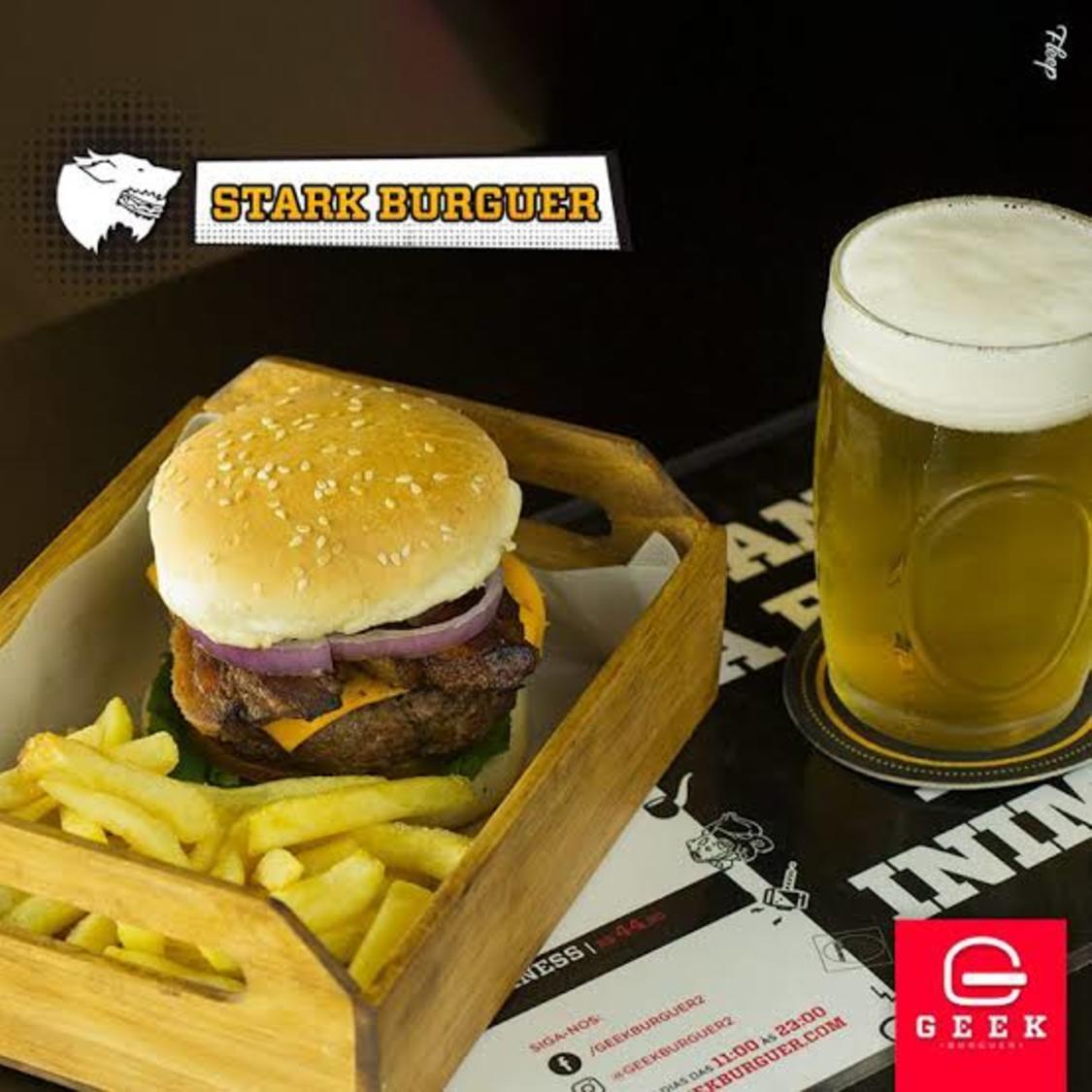 Geek Burger - Juvevê